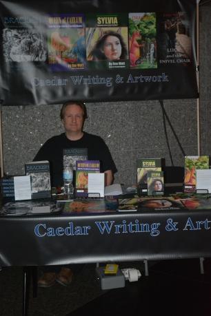 Andy Watt, co-writer of Brackish caedar-writing-artwork.com