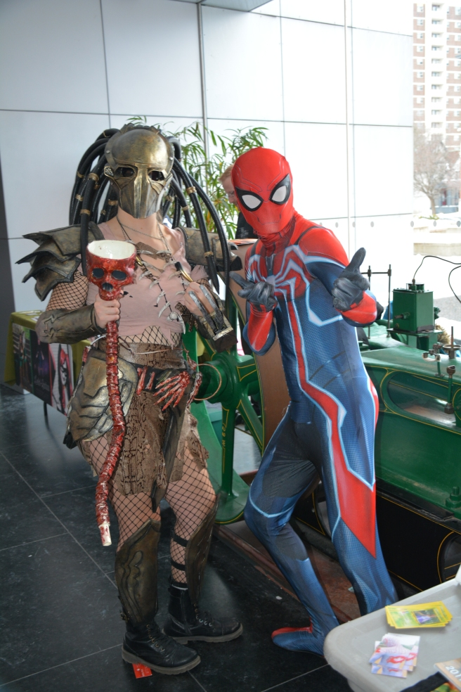 Guelph Spectacular Spiderman with Predator