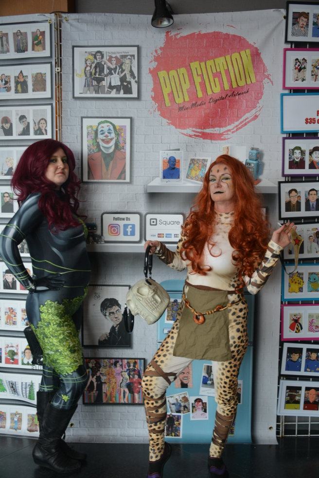 Cosplay Girls for Pop Fiction