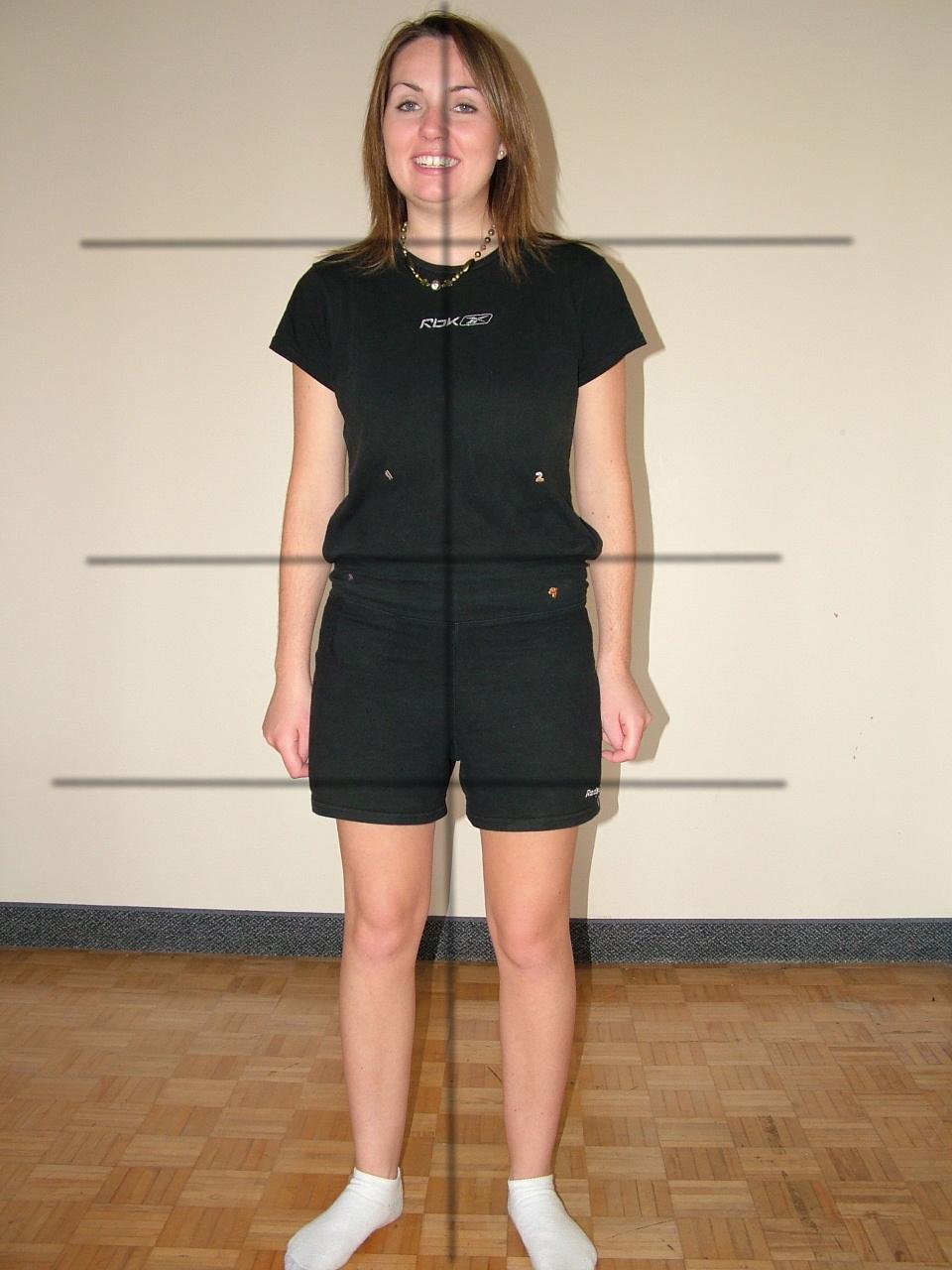 Krystal G nee H front view posture